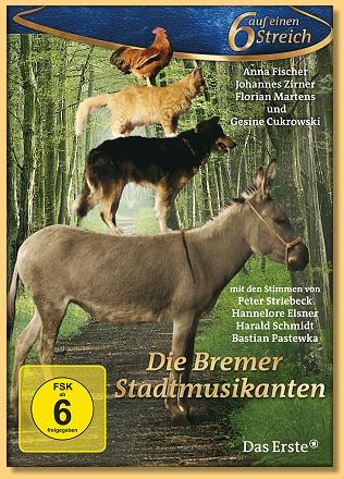 O muzykantach Z Bremy / Die Bremer Stadtmusikanten (2009) PL.DVDRiP.XviD Lektor PL